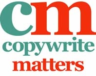 Copywrite Matters' Logo | from Writing for the Web interview on Jen Clark Design