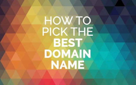 How to pick the best domain name