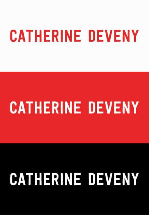 Catherine Deveny Brand Identity Logo Branding Melbourne