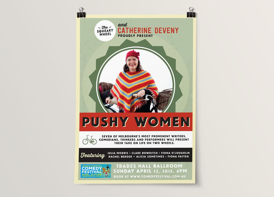 Poster Design for Pushy Women