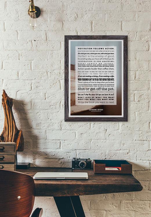 Catherine Deveny Print Design Poster Design Melbourne