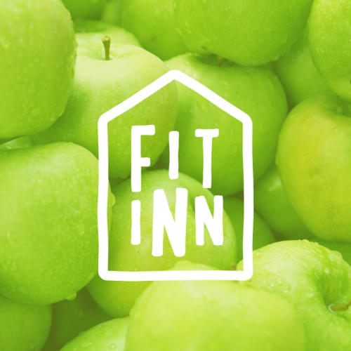 Fit Inn Cafe Logo - rebrand by graphic and web design studio Melbourne