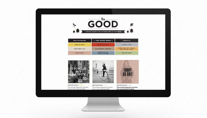 The Good Blog Charlie Pickering Wordpress Website Design Melbourne