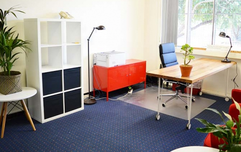 office interior after design and refurbishment