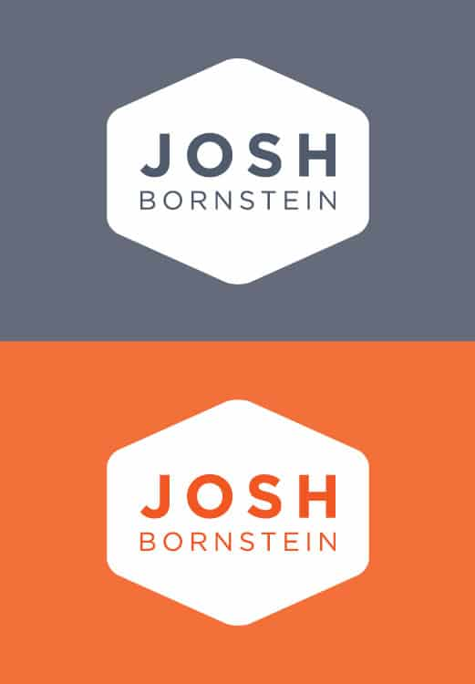 Josh Bornstein Lawyer Brand Identity Logo Branding Melbourne