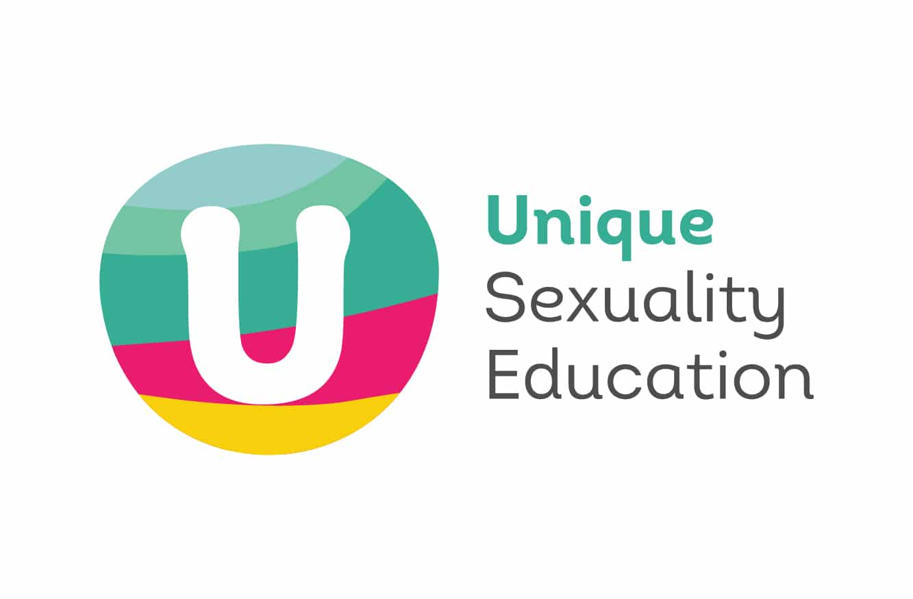 Unique Sexuality Education Branding Logo Design on Business Card