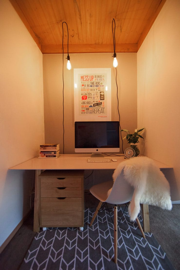 Home Office Design and Renovation in Melbourne for Julia Watson - Desk Space After