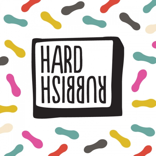Bar Branding and Graphic Design for Hard Rubbish