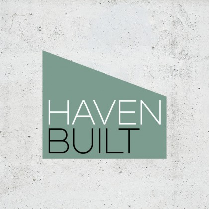 Building Industry Brand Identity and Logo Design for Haven Built