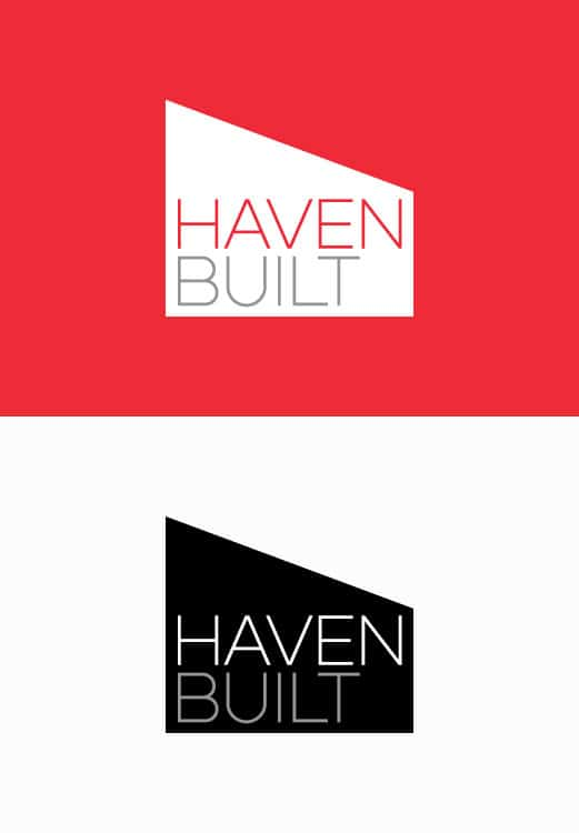 Haven Built Builder Brand Identity Logo Branding Melbourne