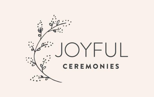 Joyful Ceremonies Castlemaine Wedding Celebrant Branding Designs
