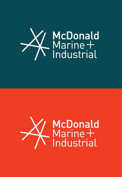 McDonald Marine Brand Identity