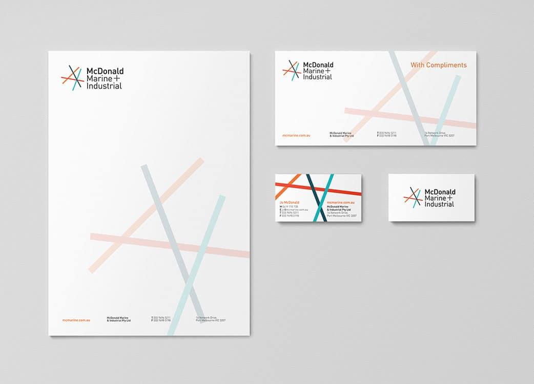 McDonald Marine Print Design Melbourne