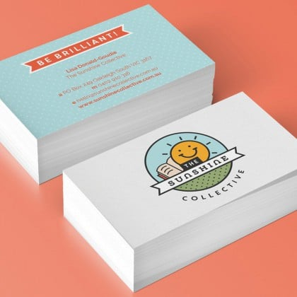 Branding and Print Design for Sunshine Collective