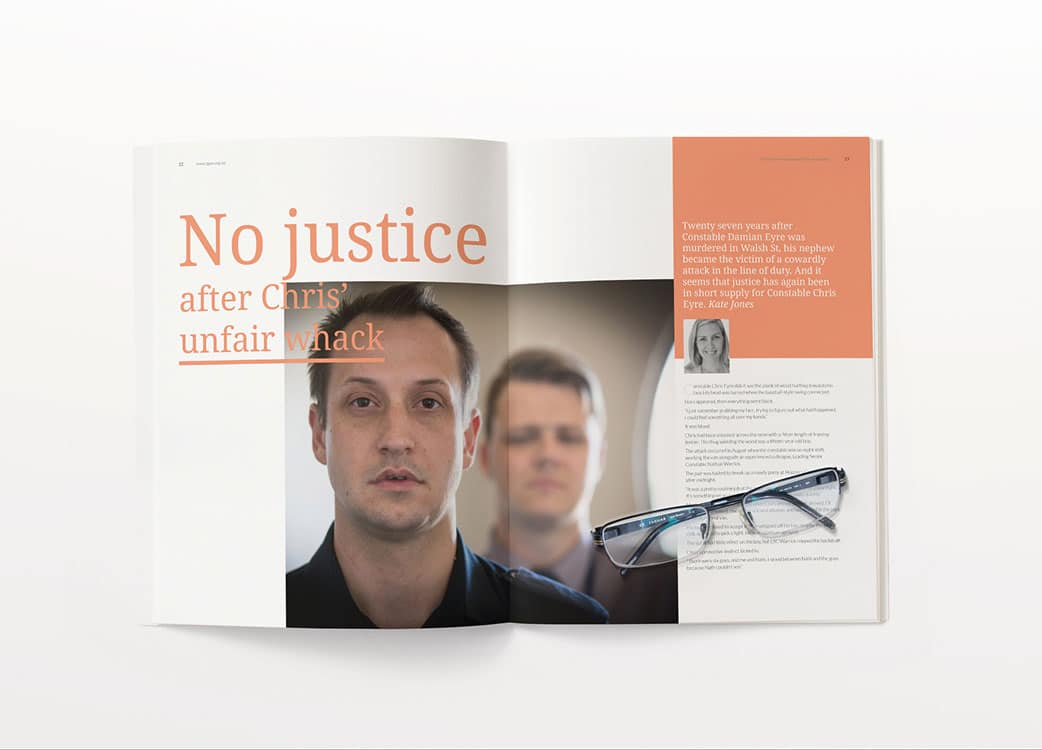 JenClarkDesign_Melbourne_ThePoliceAssociationVictoria_Journal_Editorial_Design_Img2