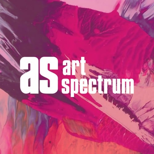 Colourful Paint used across web design and print design for Art Spectrum