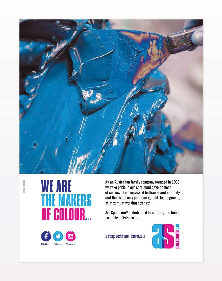 Art Spectrum brochure print design