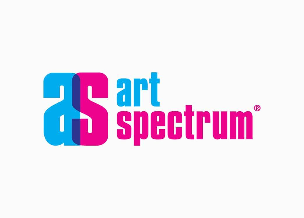 Art Spectrum logo design on white background