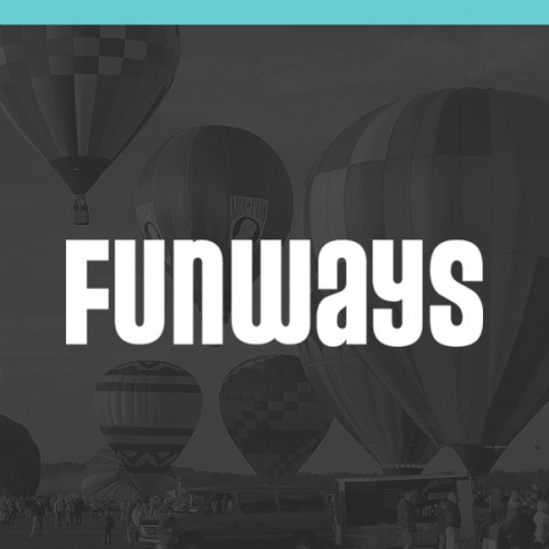 Logo of Funways - designed by digital design studio Jen Clark Design