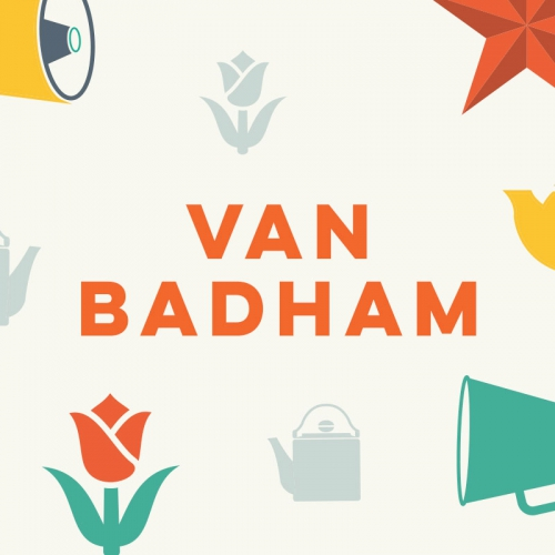 Personal Branding and Website images for Van Badham