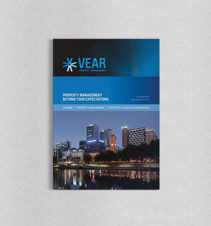 Print Design for Vear Property Management
