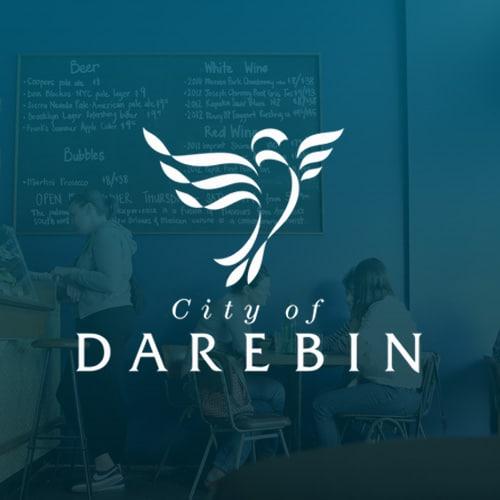 Print design work for City of Darebin Council