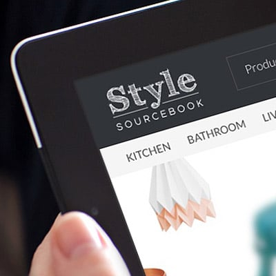 Responsive web design for Style Sourcebook