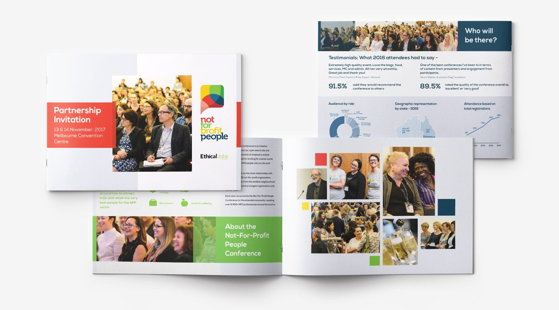 Not for Profit People brochure design