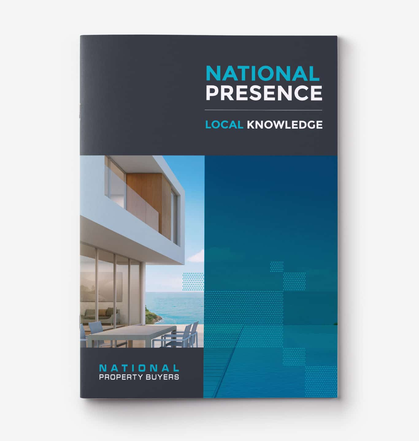 National Property Buyers cover print design