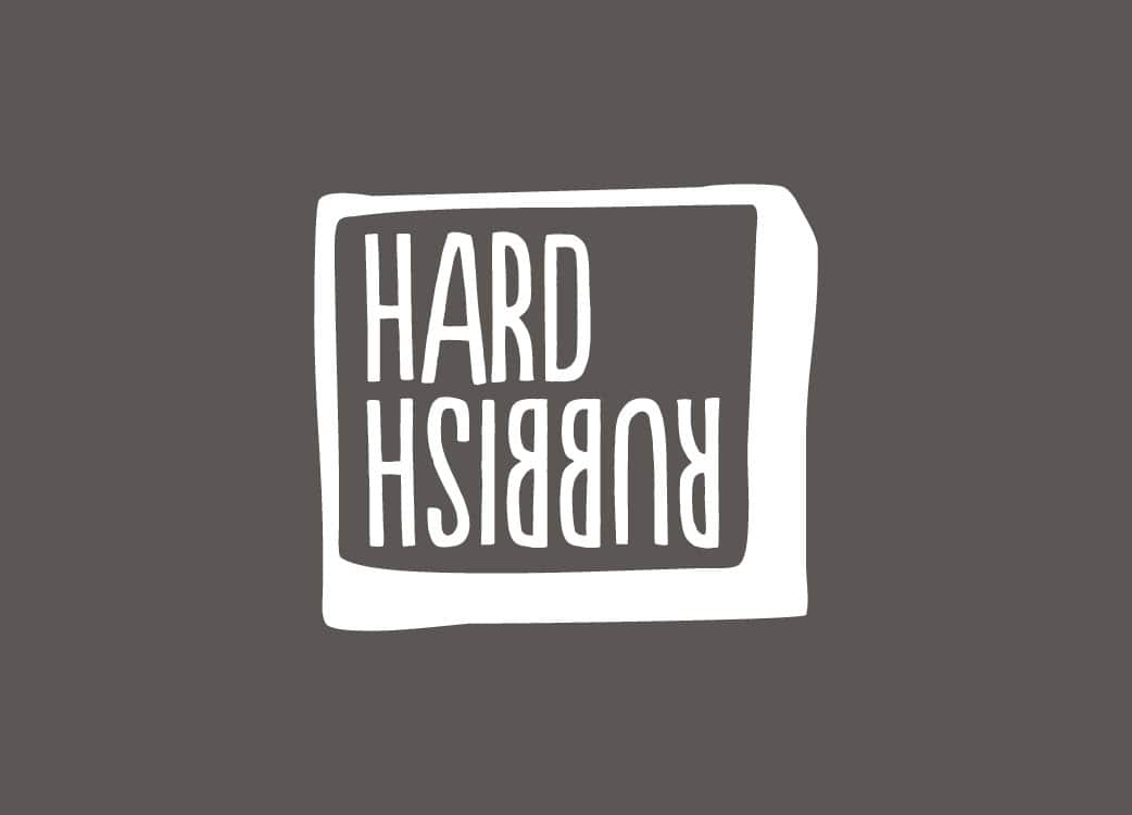 Hard Rubbish Bar Pub Brand Identity Logo Branding Melbourne