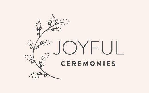 Joyful Ceremonies Castlemaine Wedding Celebrant Branding Designs