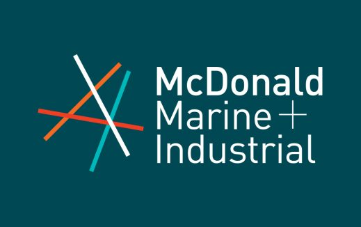 McDonald Marine Branding Graphic Design