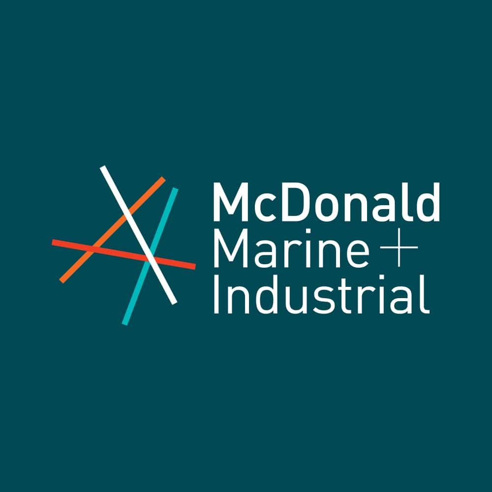 McDonald Marine Branding Graphic Design