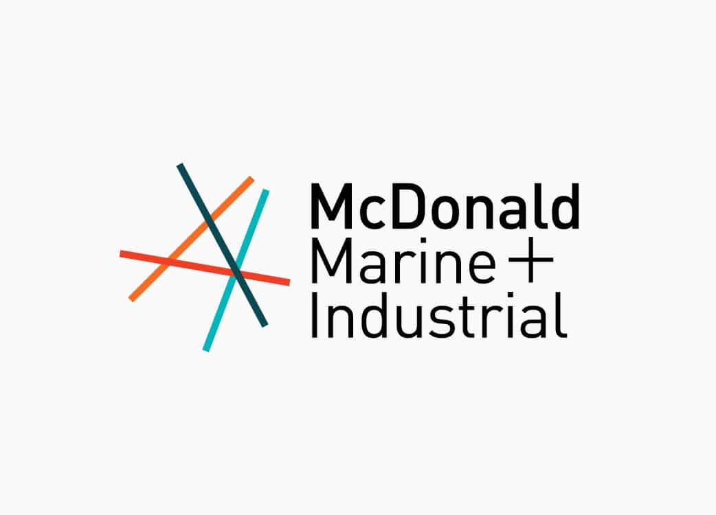 McDonald Marine Brand Identity Melbourne