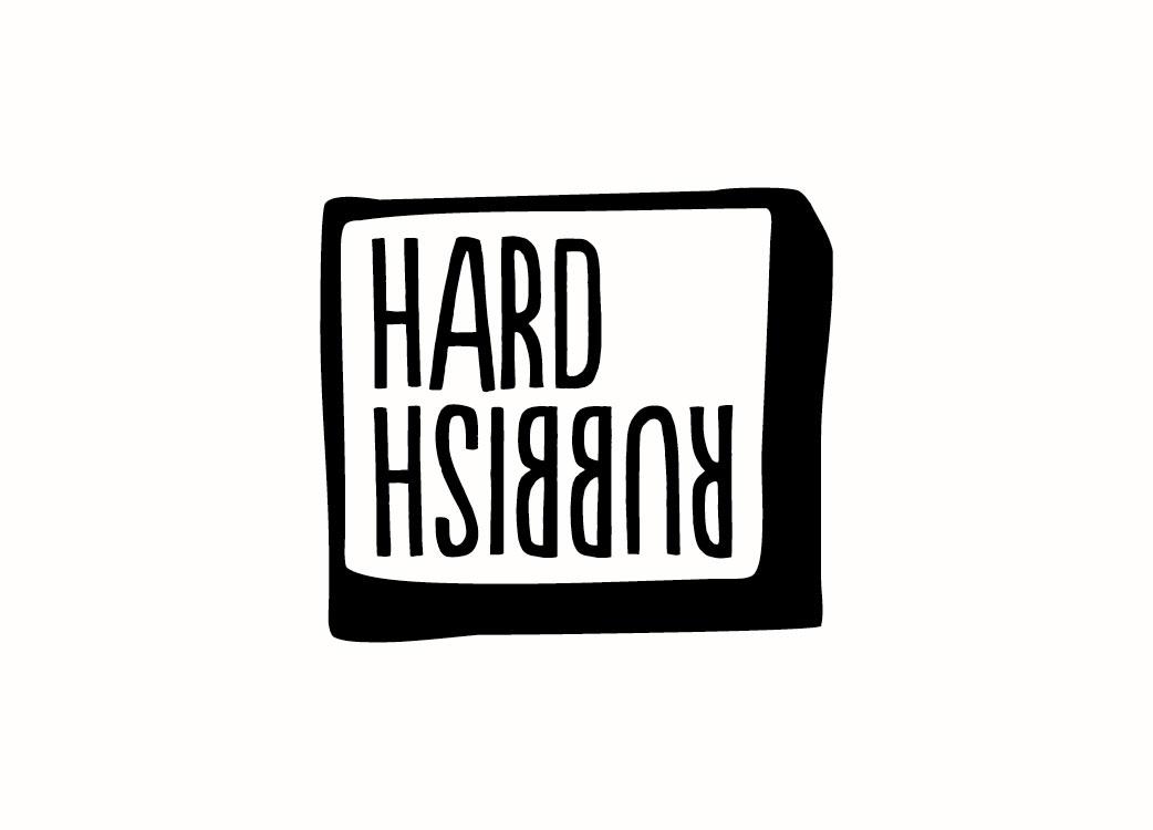 Hard Rubbish Bar Pub Brand Identity Logo Branding Melbourne