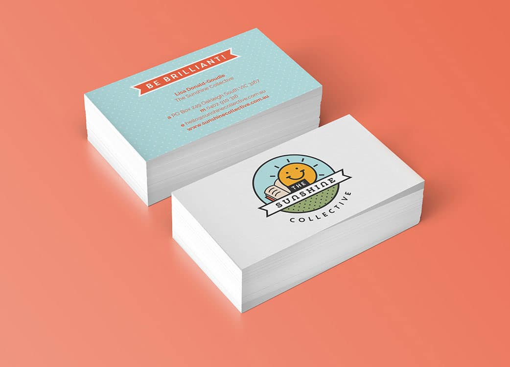 Sunshine Collective Business Card Design