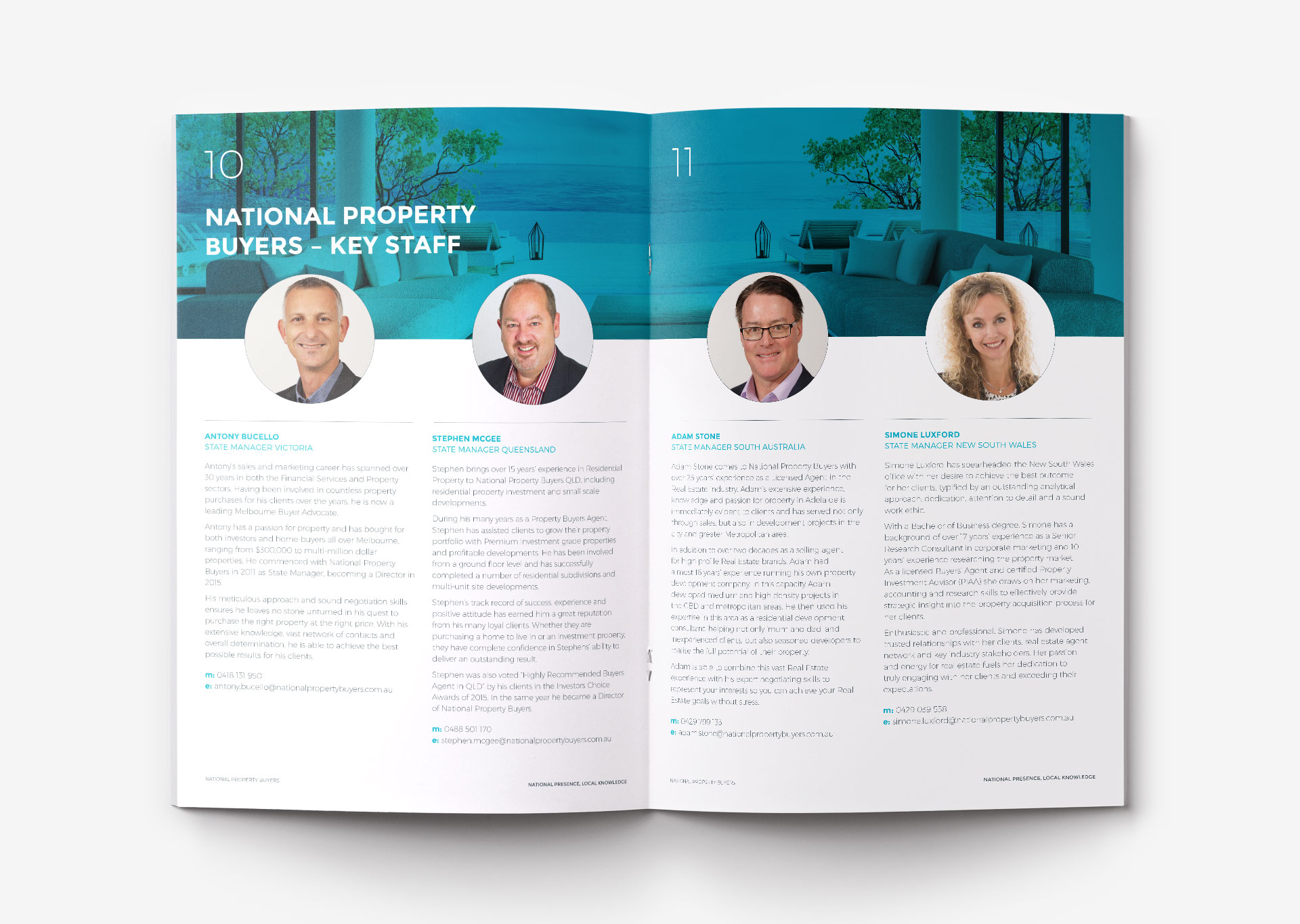 National Property Buyers print design