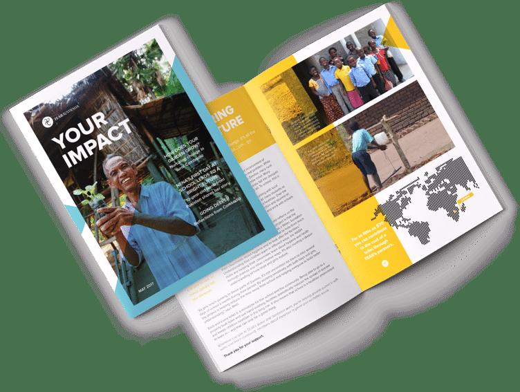 Business Publication Design, Jen Clark Design