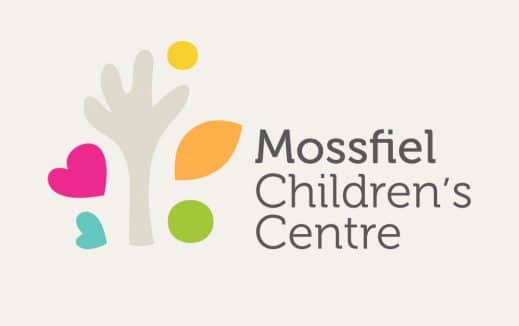 Mossfiel Childrens Centre Branding Graphic Design