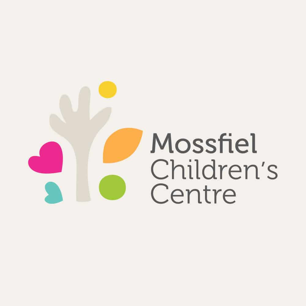 Mossfiel Childrens Centre Branding Graphic Design