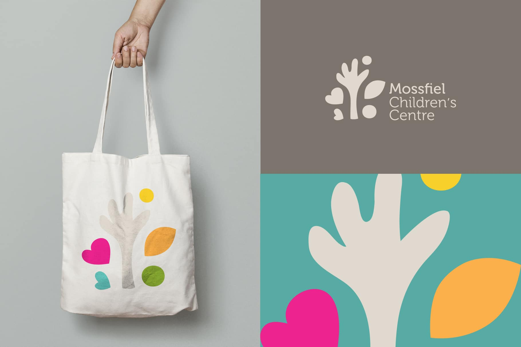 Mossfiel Childrens Centre Branding Melbourne
